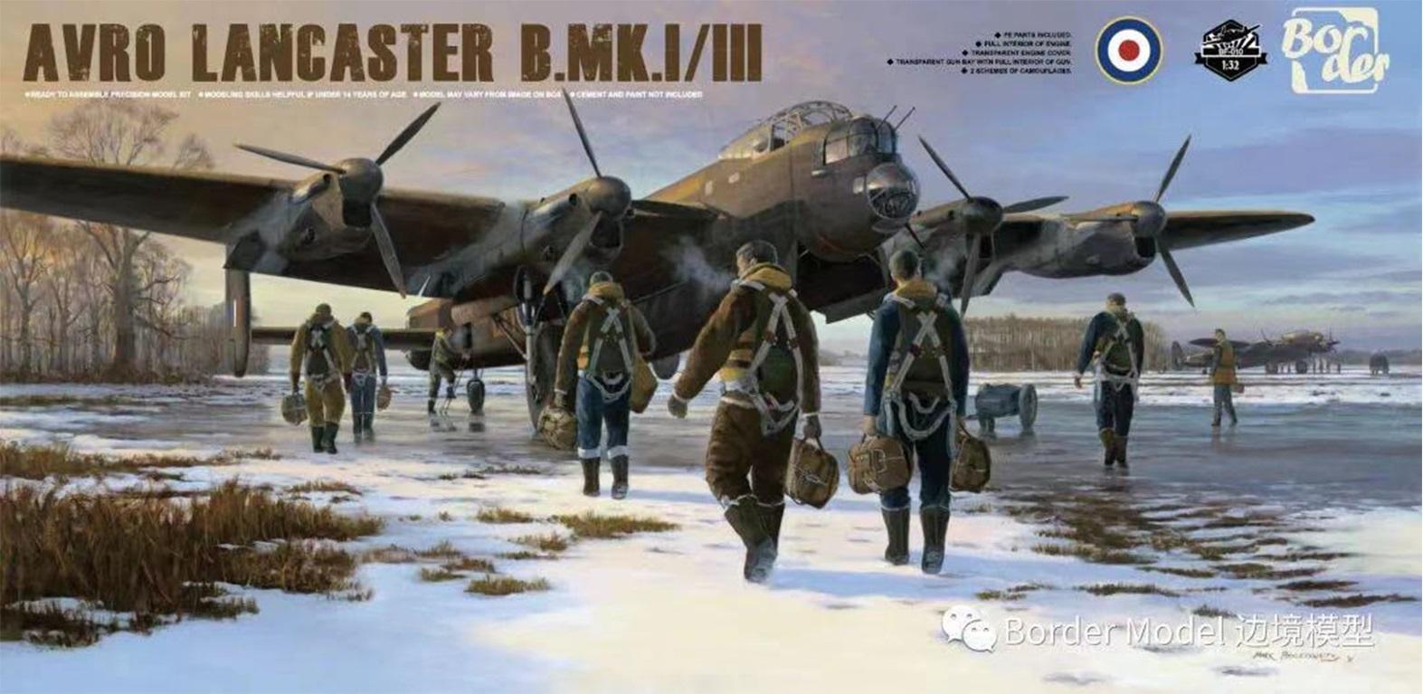Avro Lancaster B Mk.I/III with full Interior (PRE-Order Deposit €50,00 - please read description)