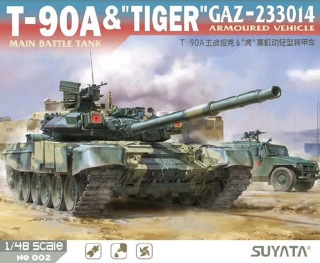 "T-90A MBT & ""Tiger"" Gaz-233014 Armoured Vehicle"