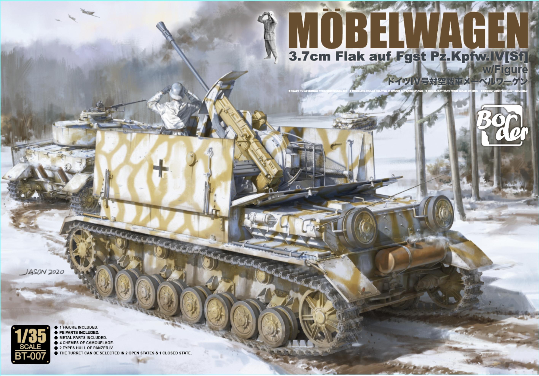 """""""Möbelwagen"""" 3.7cm Flak auf Fgst. Pz.Kpfw. IV (Sf)"""