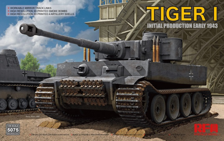 Tiger I 100# initial production early 1943